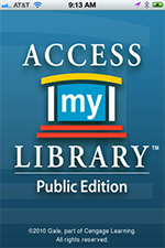 Access My Library Opens in new window